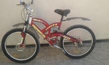دراجة هوائية للبيع مستعمله استعمال بسيط