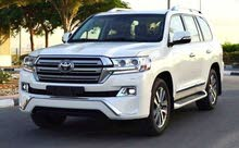 Toyota Land Cruiser 2016 For sale - White color
