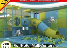وحدة ألعاب داخلية للفنادق والمولات