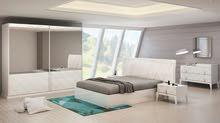 غرفة نوم مودرن صناعة تركية بتصميم راقي وسعر مخفض