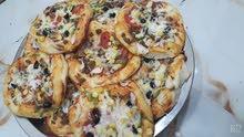 كيلو مني بيتزا باللحم الف عافيه