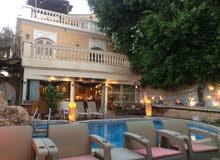 فيلا  حديثة - 4 غرف  - للايجار اليومي في مدينة الشيخ زايد - مستوي 7 نجوم