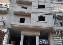 شقه مميزه 155م بحي الجامعه ( الزعفران ) بجوار جامعة المنصورة علي شارع عرض 12 متر