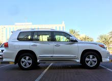 Toyota Land Cruiser 2013 For sale - White color