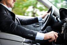 مطلوب بالسائق سيارات ملاكى موديل من 2017 بها 2 ايرباج و ABS