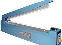 الماكينة أو الآلة المعدنية لحام وتغليف (تقفيل) أو غلق الأكياس Impulse Sealer