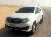 White Toyota Fortuner 2013 for sale
