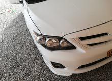 للبيع كورولا موديل 2012 رقم واحد فئه السبورت 3300 قابل