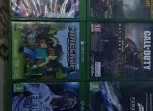 للبيع مجموعة ألعاب Xbox one