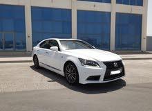 Lexus LS-460 / 2014 (White)