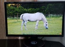شاشة  ASUS VG248QE 3D بدون اي مشاكل full hd 1080p 144hz