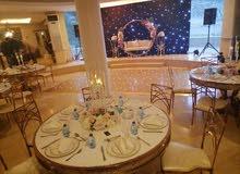 قصر للحفلات في تل الرمان تجهيزات كامله
