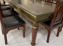 طاولة طعام فخمة 12 شخص  Unique luxury dining table for 12 people