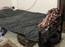 سرير حديد مفرد