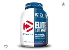 dymatize 100% whey protein almost new for sale