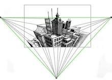 كورس الرسم الهندسي الايزومترك و المنظور الهندسي و المنظور الحر كورس تنمية مهارات