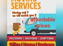 shifting/Moving/packing