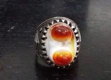 خاتم عقيق يمانى نادر
