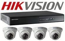 التمديدات الكهربائية - شبكات الانترنت - كاميرات المراقبة
