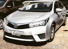 Toyota Corolla 2015 For sale - Silver color