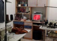 مشغل خياطة في الفرناج جاهز للعمل