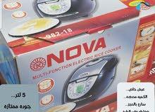 قدر الطبخ الاكتروني دجتل ضمان سنه يتحدث عربي سهل الاستعمال