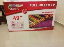 شاشة ماجيك 49 بوصة full hd _led للبيع او البدل