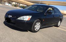 Used condition Honda Accord 2004 with +200,000 km mileage