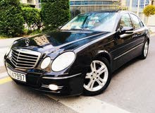 Black Mercedes Benz E 200 2008 for sale