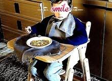 كراسي اكل خشبية للاطفال