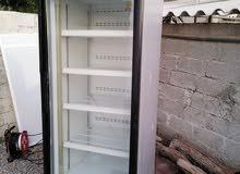 للبيع ثلاجه باب واحد زجاج
