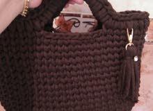 حقيبة يد كروشي صيفية