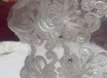 بدلة عروس ملبوسة مرة فقط للبيع