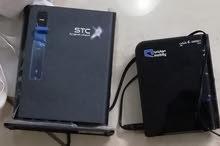 راوتر موبايلي حجم المني الصغير و راوتر stc العادي 4G
