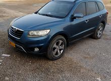 Blue Hyundai Santa Fe 2012 for sale