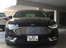 Black Ford Fusion 2017 for sale