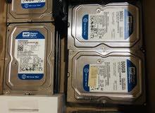 هارد درايف 500 جيجا ستوكات جديدة على الفحص والتشغيل