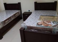 شقق مفروشه بالمعمورة من غرفتين وتلاثه غرف شارع عبيد ختم
