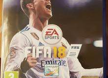 FIFA 18 للبيع عربيه