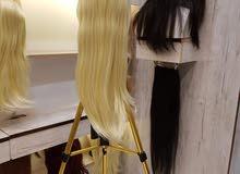 باروكات شعر اللياف