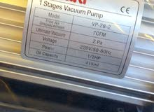 Vacuum pump 1/2 Hp Aruki Made in Korea  مضخة لتكييف 1/2 حصان اريوكي صناعة كورية