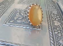 خاتم عقيق  شرف الشمس
