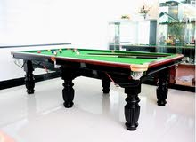 High-grade snooker tables pool table