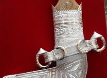خنجر صورية بفضة ثقيلة للبيع