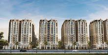 قسط علي 42 شهر بدون فوائد شقة للبيع كومبوند فالوري سموحة مساحة 131 متر