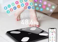 الميزان الرائع لتحليل وزنك متوفر بلونين