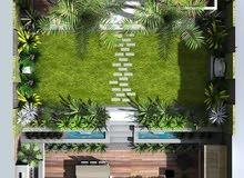 تصميم حدائق فلل و مزارع