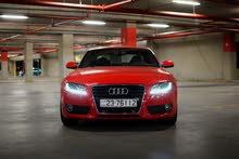 اودي A5 دفع رباعي لون احمر Audi A5 2010 Quattro
