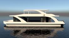House Boats - for Sale قارب بيت عائم للبيع