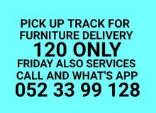 052 3399 128 MOVERS PICK UP TRUCK FOR FURNITURE DELIVERY.100. DEAR CUSTOMER